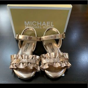 Michael Kors Baby Sandals DEMI BLINK-T Size 5